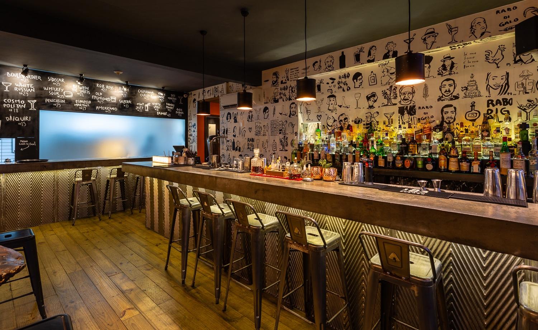 Rabodigalo, bar com alma cosmopolita na capital catarinense